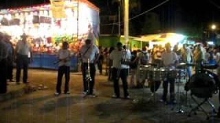Escuchando la banda Fiestas Las Juntas Jalisco