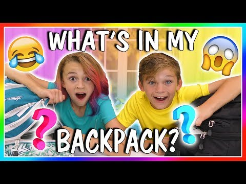 WHAT'S IN MY BACKPACK?   SCHOOL'S OUT!  ...