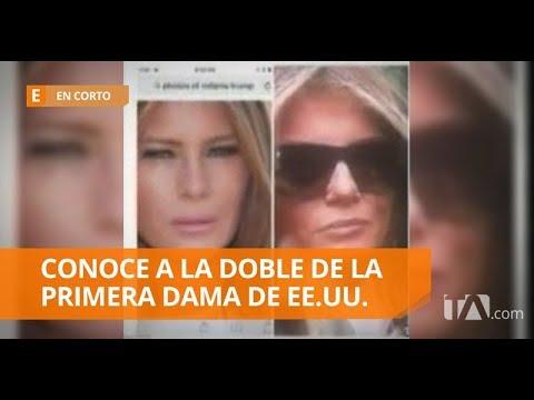 En redes sociales aseguran que Melania Trump tiene una doble - En Corto