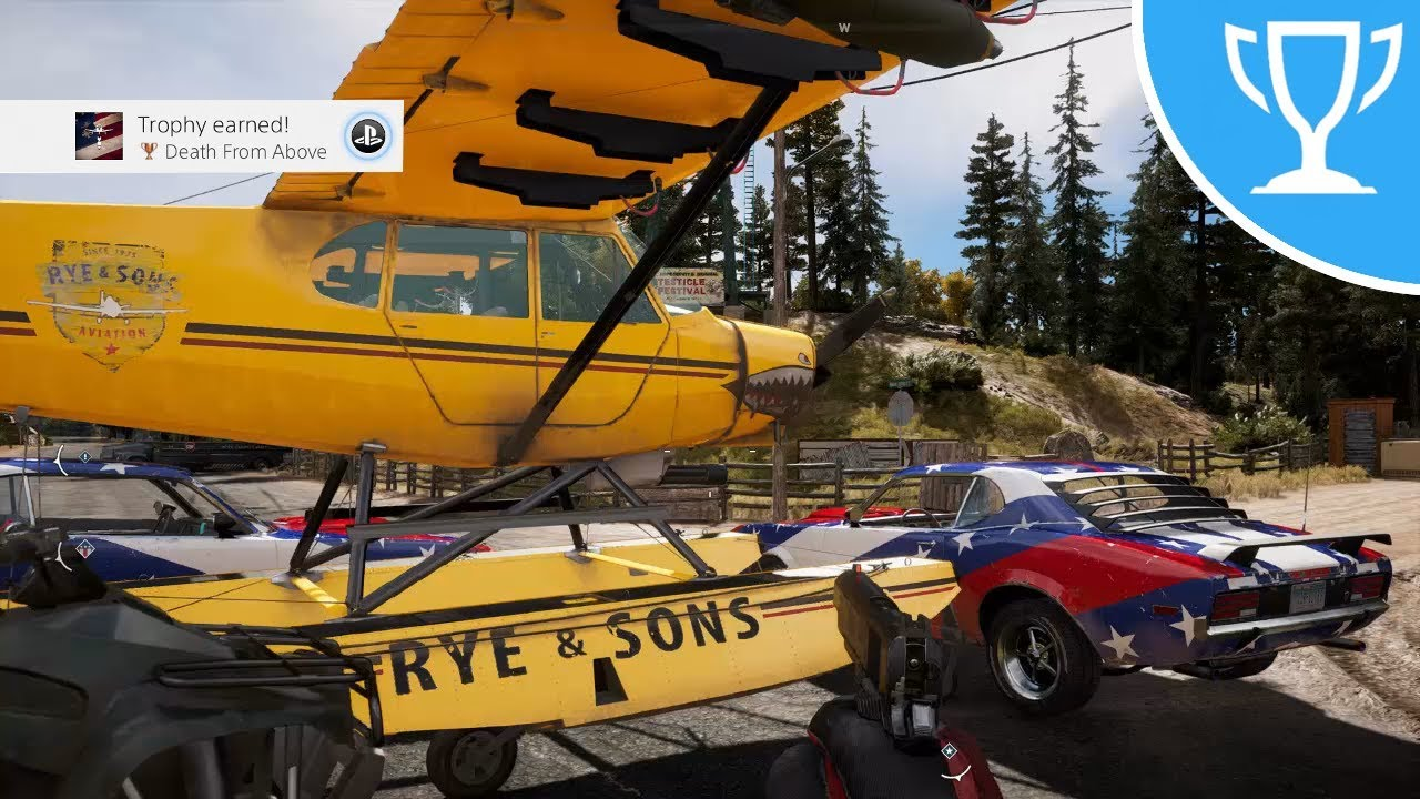Far Cry 5 Death From Above Trophy Achievement Guide Youtube