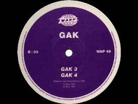 aphex twin as [gak] - gak 4