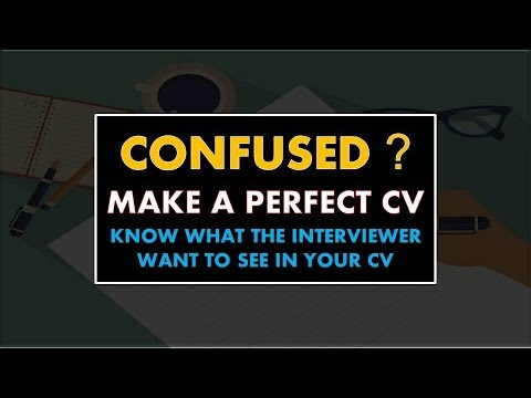 BEST CV TECHNIQUE TO GET ANY JOB | CV FONT, SIZE AND FORMAT | FOR FRESHER AND EXPERIENCED