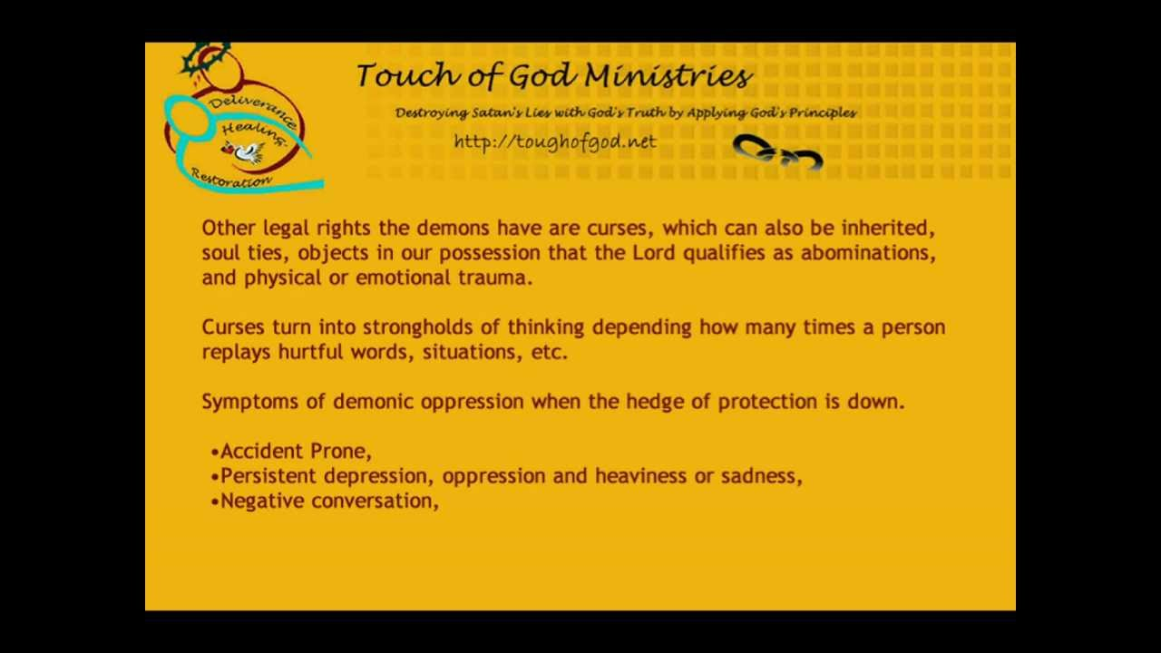 Signs of Demonic Oppression Checklist and Then Steps To Overcome