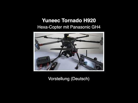 Yuneec Tornado H920 Hexa-Copter #01 – Vorstellung (Deutsch)