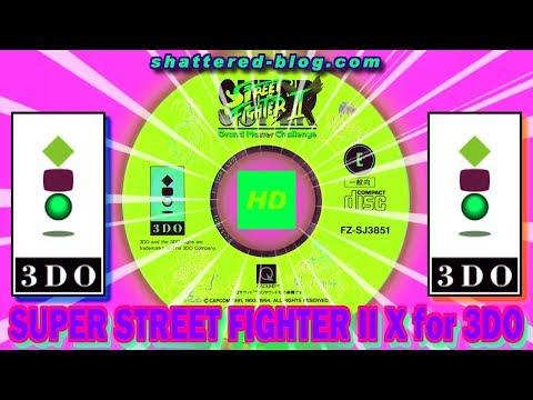 SUPER STREET FIGHTER II Turbo for 3DO