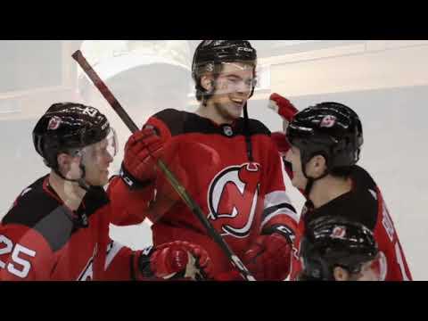 Devils' Nico Hischier talks about OT goal vs. Vegas