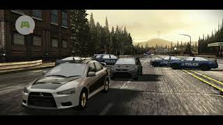 NFS Most Wanted game play
