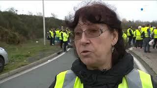 Manifestation des gilets jaunes La Rochelle