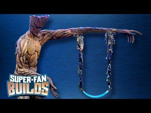 Groot Swing Set (Guardians of the Galaxy) - SUPER-FAN BUILDS