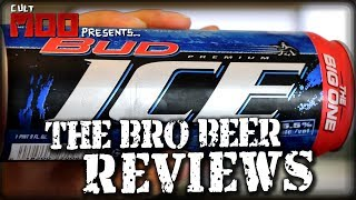 Bud Ice 5.5% abv - The Bro Beer Reviews