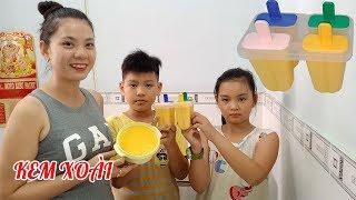 Cách làm kem xoài cực đơn giản giải khát mùa nóng ai cũng sẽ thành công