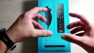 [UNBOXING] Official Wii U Remote Plus e Nunchuk Bundle - Mariio128