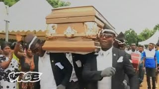 The Dancing Pallbearers of Ghana | Behind the Meme