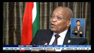 President Zuma condemns the spate of xenophobic attacks