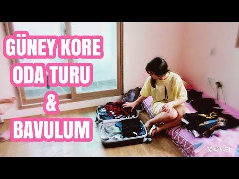 KORE'DEKİ YURT ODAM + BAVULUMDA NELER VAR!