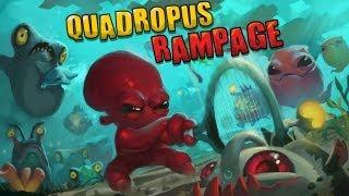 Quadropus Rampage - Universal - HD Gameplay Trailer
