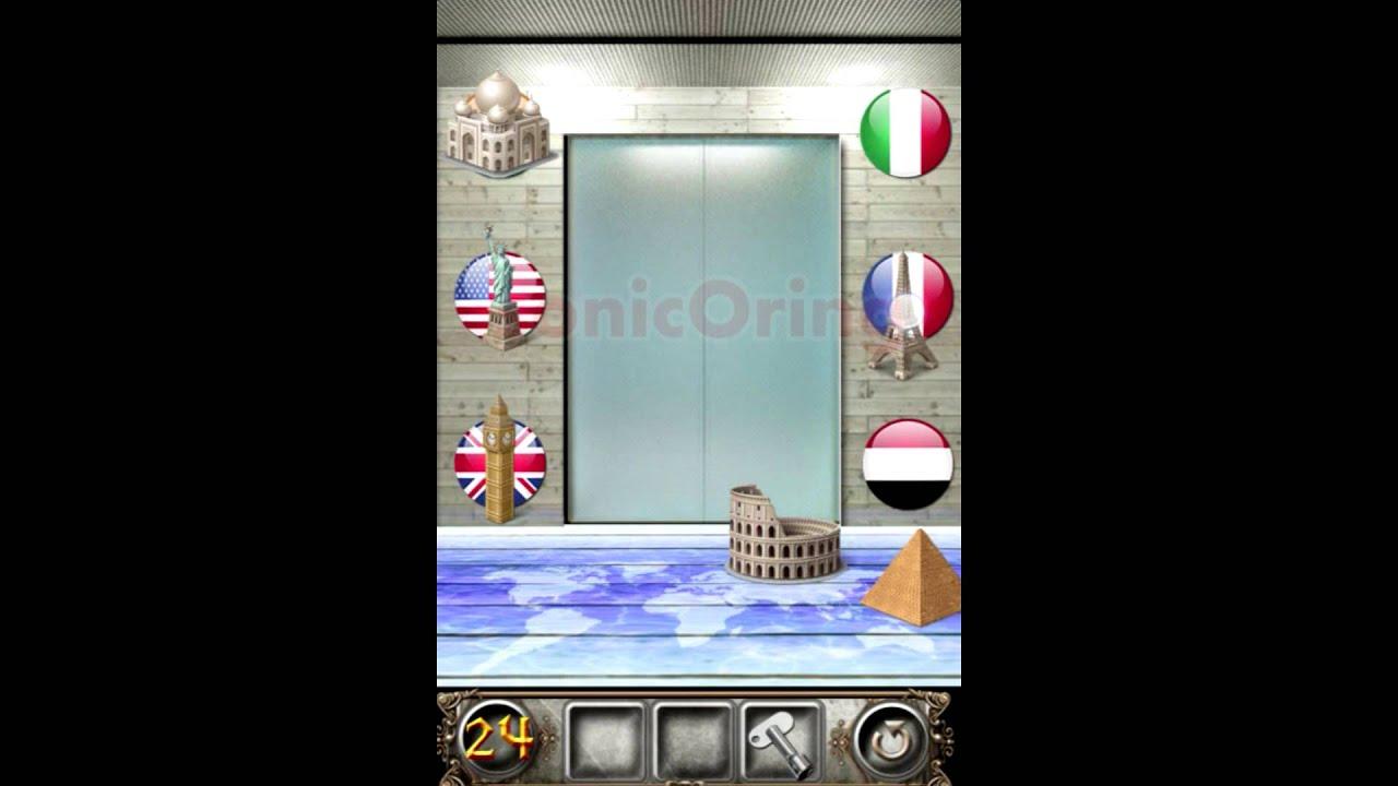 100 Doors Floors Escape Level 24 Walkthrough Youtube