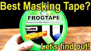 Which Masking Tape is the Best?  Let's find out!