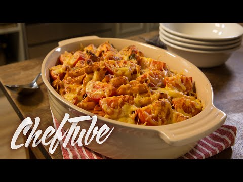How To Make Vegetarian Pasta Bake - Recipe In Description