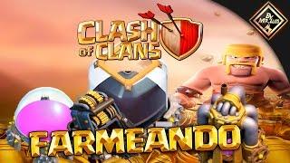 EJERCITOS PARA FARMEAR Y TIEMPO EN FARMEAR 1 MILLON DE ORO | clash of clans by mr luis