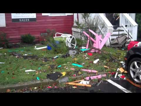 Tornado damage in Ocean City Maryland - Atlantic Shores Realty - Ryan Haley