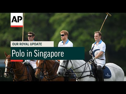 Prince Harry in Singapore - 2017 | Our Royal Update # 35