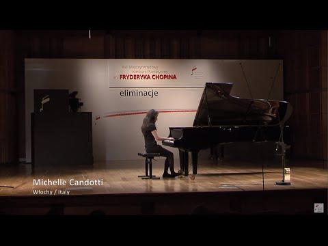Michelle Candotti – Chopin Piano Competition 2015 (preliminary round)