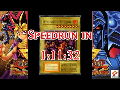 [NEW WORLD RECORD] Yu-Gi-Oh! Forbidden Memories Speedrun In 1:11:32!