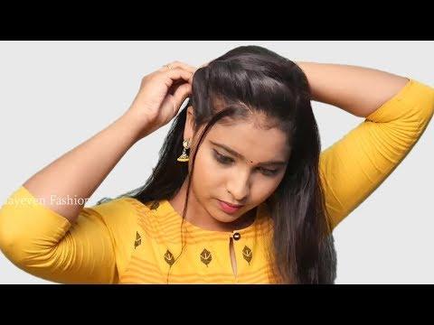 Easy & cute wedding hairstyle for girls || Bridal Hairstyles | Hair Style Girl || hairstyles 2019 thumbnail