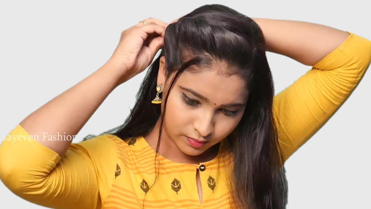 Easy & cute wedding hairstyle for girls || Bridal Hairstyles | Hair Style Girl || hairstyles 201