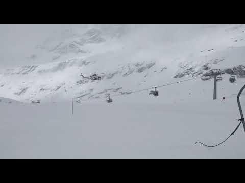Breuil-Cervinia: guasto alla seggiovia: 27 sciatori recuperati con l'elicottero