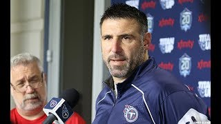 Head Coach Mike Vrabel on Titans Minicamp