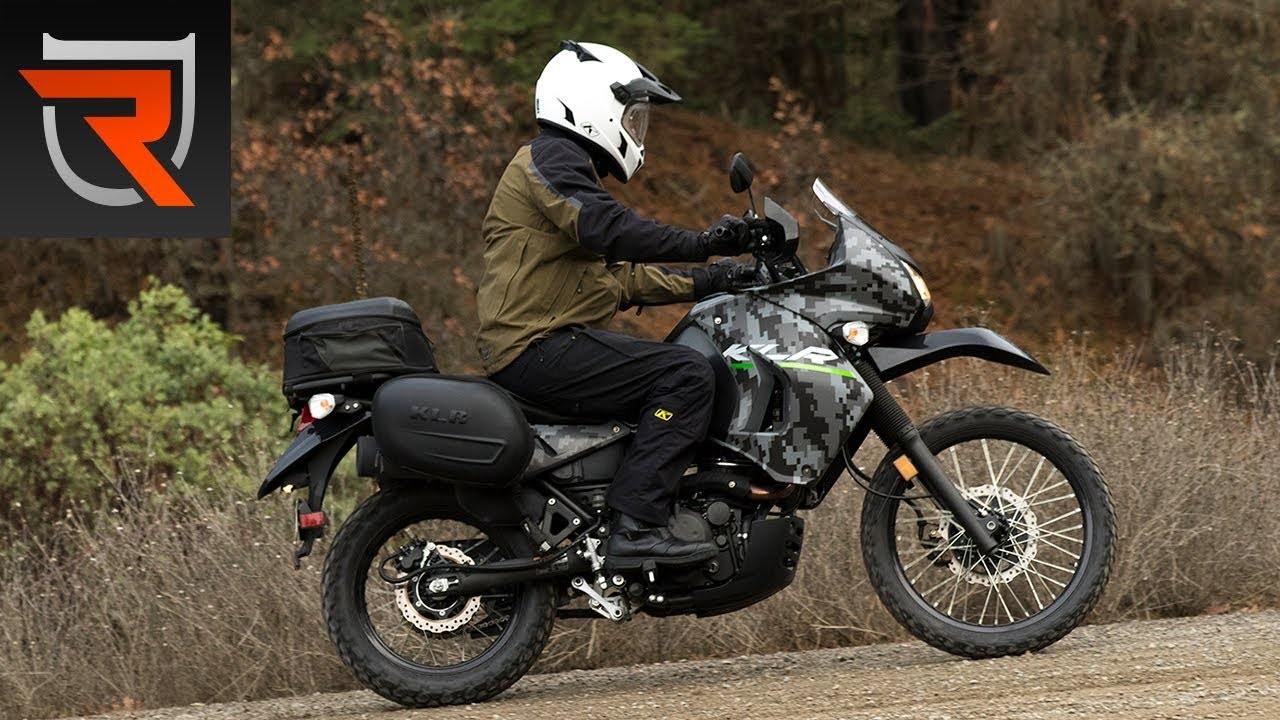 2016 Kawasaki KLR650 Motorcycle First Test Review Video | Riders ...