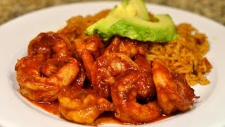 Spicy Mexican Shrimp With Chipotle Recipe / Camarones Ala Diabla Con Chipotle