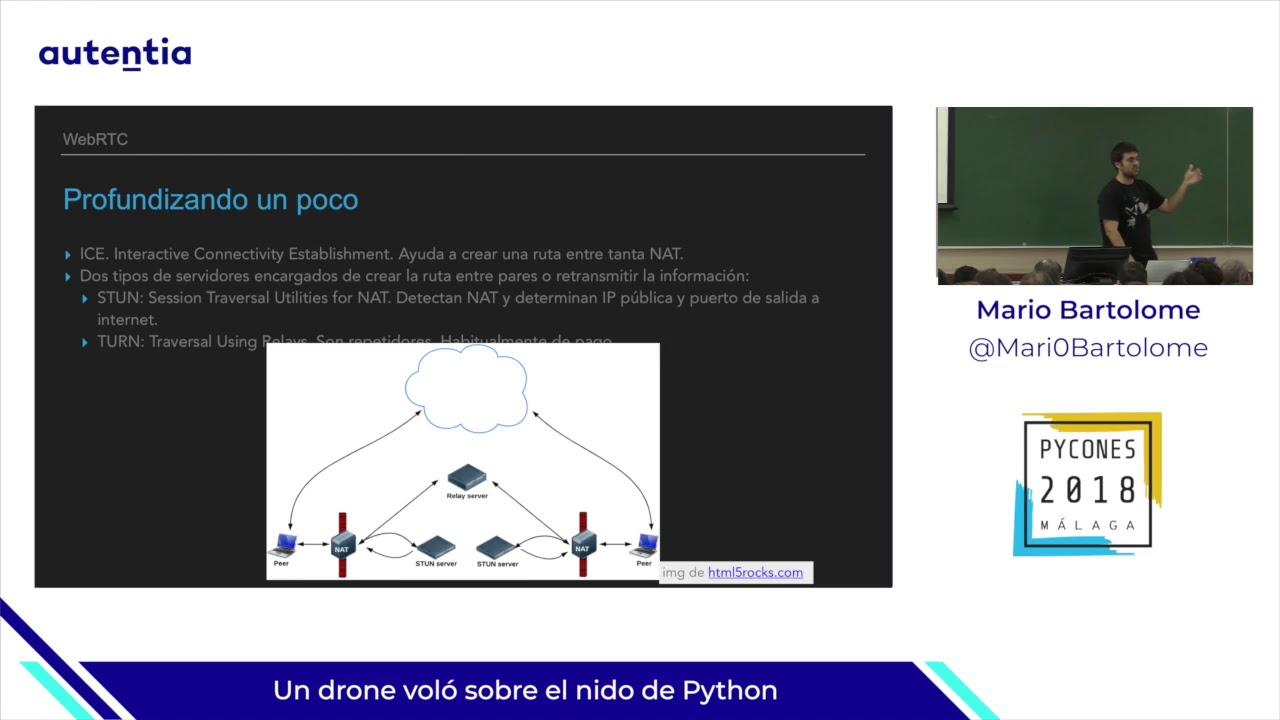 Image from Un dron voló sobre el nido de Python