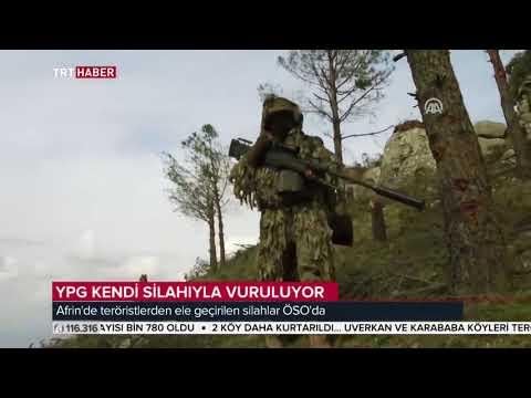 ABD menşeli keskin nişancı tüfeği ZAGROS'lar artık ÖSO'nun elinde