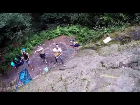 20170723 Ibbenburen climbing