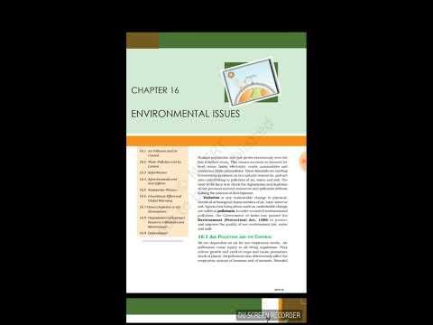 biology environmental issues class 12 thumbnail