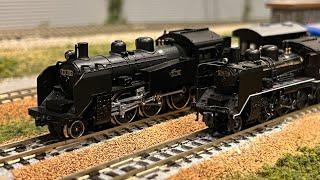 【Nゲージ】EF55牽引旧客車編成、C56牽引貨物旧車編成(小海線)、他色々