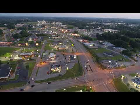 "Friday Night ""Ride"" Over Glasgow Ky"