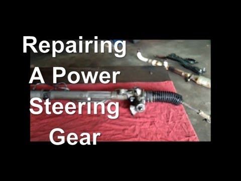 How to Fix A Leaking Power Steering Gear (Rack and Pinion) 97 Chrysler Sebring  YouTube