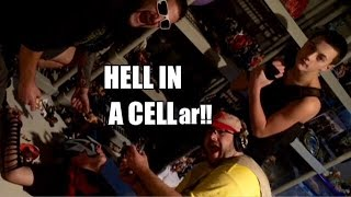 Grims Toy Show ep 1029: Hell in a Cell..ar!! WWE Wrestling figure collection destroyed!