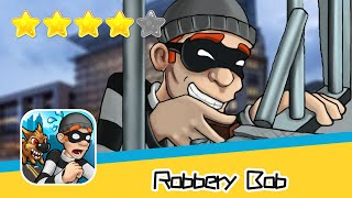 Robbery Bob HIGH RISE Level 14 Walkthrough Prison Bob Recommend index four stars