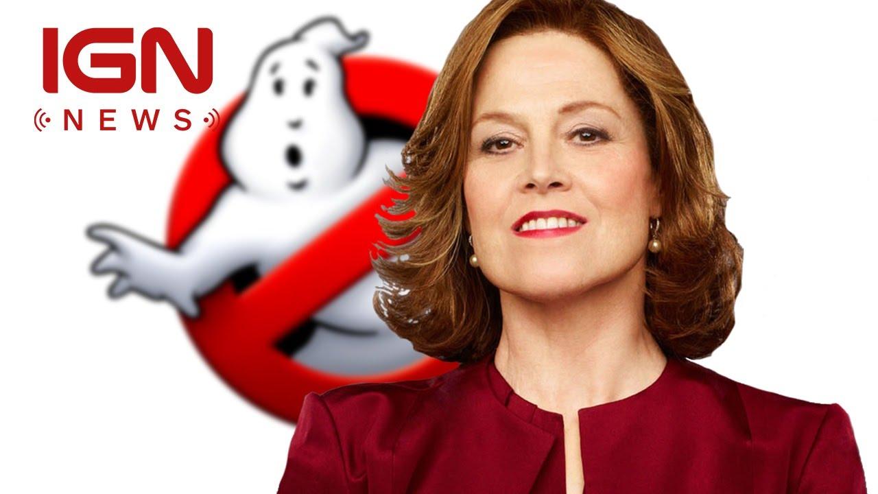 Ghostbusters Sigourney Weaver 2016