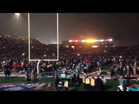 Closing The Floyd Casey Stadium - Baylor Vs. UT - Waco, Texas