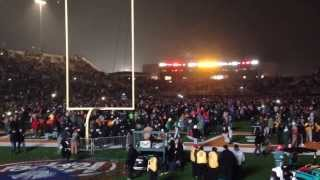 Closing the Floyd Casey Stadium - Baylor vs. UT - Waco, Texas