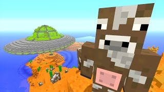 Minecraft Xbox - Ocean Den - Space Cows! (13)