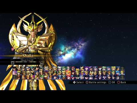 Saint Seiya Soldiers Soul All Unlockable Characters Costumes Skins Youtube