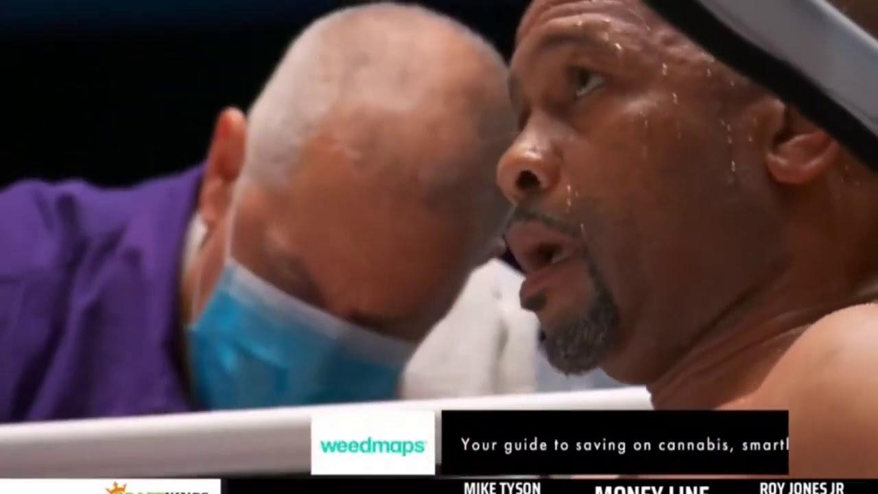 Tyson vs Ron Jones jr. 2000 fight