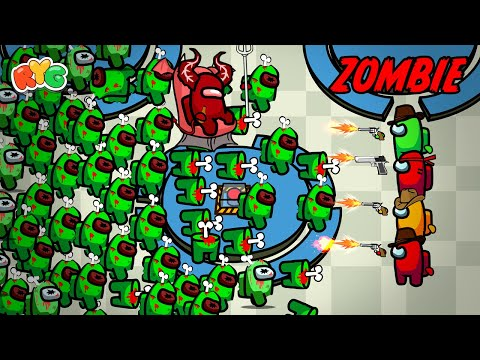 Among Us Kidnapped by Zombie - Game Animation |